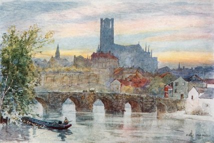 Limoges by Herbert Menzies Marshall (1841-1913, United Kingdom)