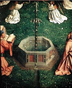 Hubert Van Eyck - The Ghent Altarpiece The Fountain Of Life