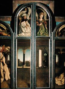 Hubert Van Eyck - The Ghent Altarpiece - Exterior Of The Left And Right Shutters