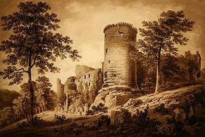 Hugh William Williams - Castle Ruins