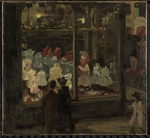 Isaac Lazarus Israels - A Shop Window