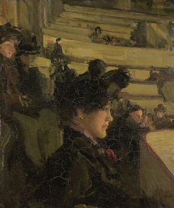 Isaac Lazarus Israels - In Theatre