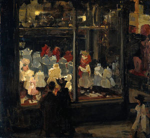 Isaac Lazarus Israels - Shop Window