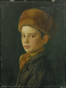 Isidor Kaufmann - Portrait Of A Boy