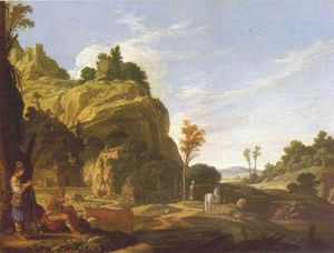 Jacob Symonsz Pynas - Landscape With Mercury And Battus
