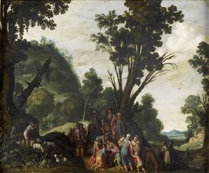 Jacob Symonsz Pynas - Meeting Of Jacob And Esau