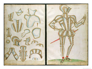 Jacobe Halder - Halder Suit Of Armour For My Lorde Skrope From An Elizabethan Armourer S Album