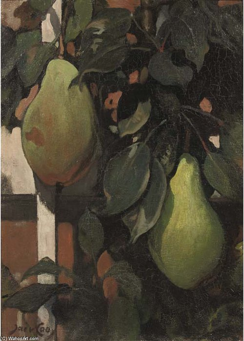 Pears by Jacobus Van Looy (1855-1930, Netherlands) | Art Reproduction | WahooArt.com
