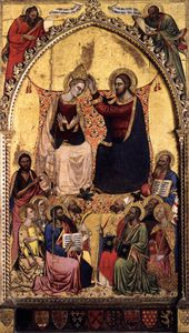 Jacopo Di Cione - Coronation Of The Virgin