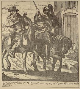 Jacques Lagniet - Don Quixote And Sancho Pansa