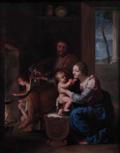Jacques De Stella - The Holy Family