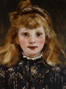 James Charles - Portrait Of A Young Girl