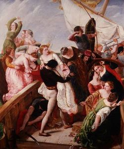 James Clarke Hook - The Rescue Of The Brides Of Venice