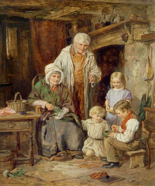 The Fledglings by James Hardy Junior (1832-1889)