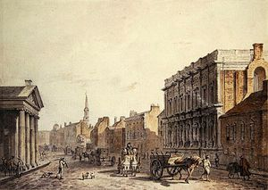 James Miller - View Of Whitehall, Looking Towards Charing Cross