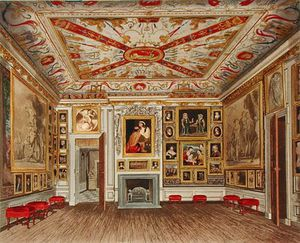 James Stephanoff - The Presence Chamber, Kensington Palace