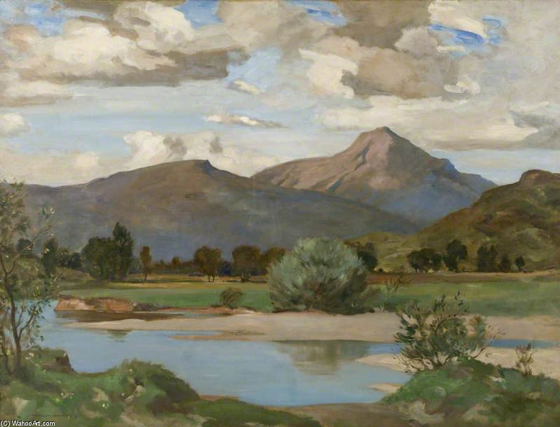 Strathfillan by James Whitelaw Hamilton (1860-1932, United Kingdom) | Museum Quality Copies James Whitelaw Hamilton | WahooArt.com
