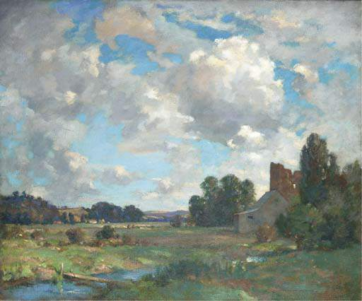 Order Art Reproductions | The Ruined Castle by James Whitelaw Hamilton (1860-1932, United Kingdom) | WahooArt.com