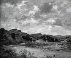 James Whitelaw Hamilton - The Valley Of The Lune, Near Kirkby