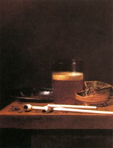 Jan Jansz Van De Velde - Still-life With A Mug Of Beer