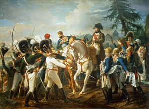 Jean Baptiste Debret - Napoleon And The Bavarian And Wurttemberg Troops