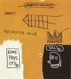 Jean Michel Basquiat - Rome Pays Off