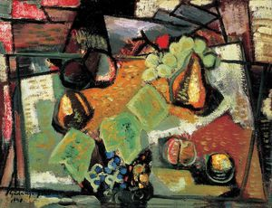 Jeno Gadanyi - Fruit Still-life