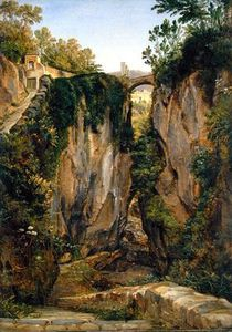 Joachim Faber - A Rocky Valley In Sorrento,