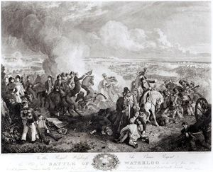 John Augustus Atkinson - The Battle Of Waterloo, 18th June
