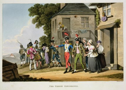 The French Conscripts_2 by John Augustus Atkinson (1775-1833, United Kingdom)