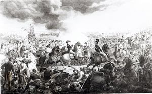 John Augustus Atkinson - Wellington At The Battle Of Waterloo, 18th June