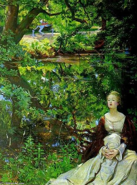 Order Reproductions | How Strange A Thing To Be What Man Can Know by John Byam Liston Shaw (1872-1919, India) | WahooArt.com