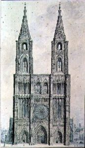 John Carter - West Front Of Strasbourg Cathedral