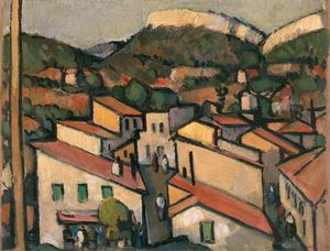 John Duncan Fergusson - Cassis From The West