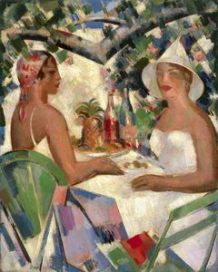 John Duncan Fergusson - Lunch At Vatel