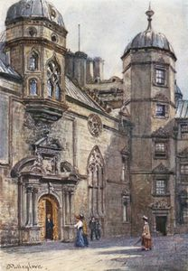 John Fulleylove - Quadrangle Of George Heriot's Hospital
