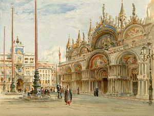 John Fulleylove - St Mark's, Venice