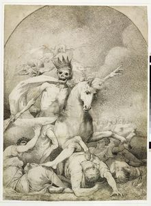 John Hamilton Mortimer - Death On A Pale Horse, C.1775