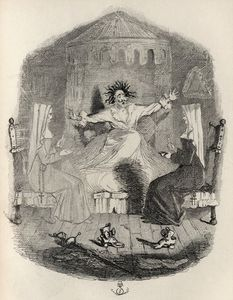 John Leech - The Black Mousquetaire, From 'the Ingoldsby