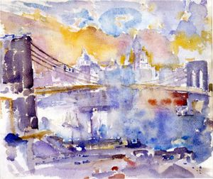 John Marin - Brooklyn Bridge