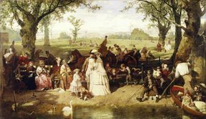 John Ritchie - A Summer Day In Hyde Park, London