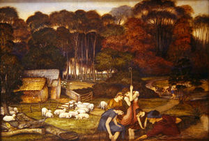 John Roddam Spencer Stanhope - Autumn
