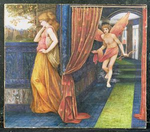John Roddam Spencer Stanhope - Cupid And Psyche
