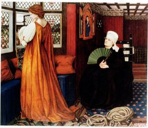 John Roddam Spencer Stanhope - Juliet And Her Nurse