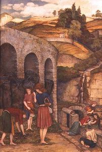John Roddam Spencer Stanhope - The Charcoal Thieves