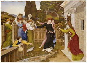 John Roddam Spencer Stanhope - The Shulamite -