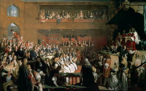 John Rogers Herbert - The Trial Of The Seven Bishops In The House Of Commons During The Reign Of James Ii