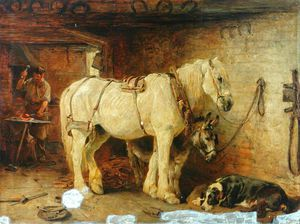 John Sargeant Noble - The Smithy