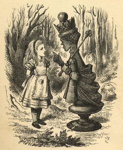 John Tenniel - Alice And The Red Queen