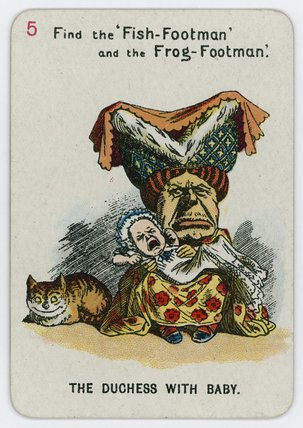 The Duchess With Baby by John Tenniel (1820-1914, United Kingdom)